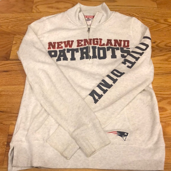 New England Patriots Sweatshirt by PINK. M 5b55560d534ef9737452f622 4efb7e3cf